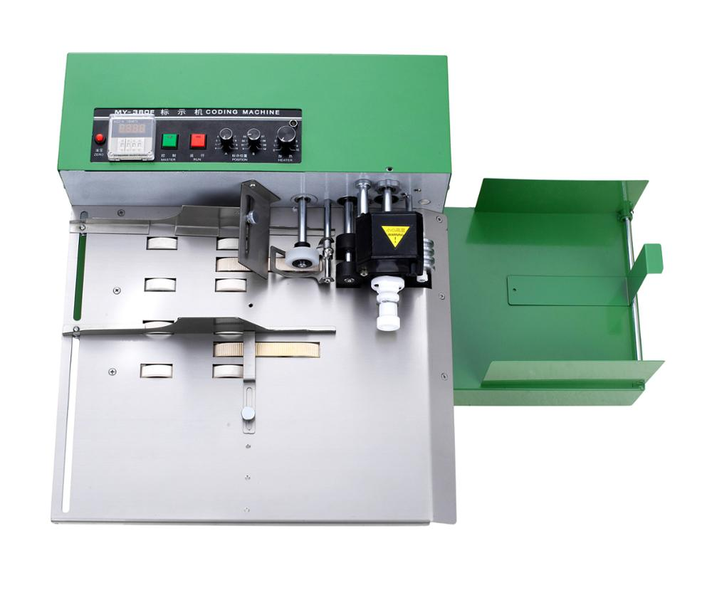 Stainless steel high speed continuous solid Ink expiry date carton batch coding printing machine enlarge