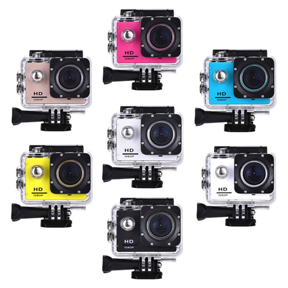 Outdoor Mini Sport Action Camera Ultra 30M 1080P Underwater Waterproof Helmet Video Recording Cameras Sport Cam