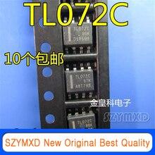 10Pcs/Lot New Original Imported TL072I TL072IDR TL072C TL072CDR SOP8 operational amplifier In Stock