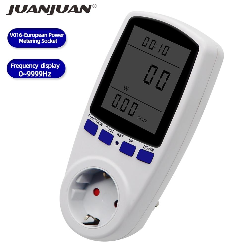 Digital Voltage Volt Wattmeter Power Analyzer Electronic Power Meter Energy Meter Automatic Power Switch US EU UK AU Plug