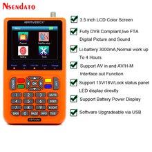 Télémètre Satellite numérique, outil avec Satellite V9, 3.5 pouces, à LCD