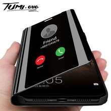 Зеркальный флип-чехол для телефона для huawei Nova 5 4 Lite 3 3i 2i Honor 20i 10i 20 Pro пленка для экрана с четким изображением для huawei Y5 Y6 Y7 Y9 Prime 2019