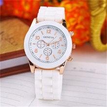 Luxury Brand Silicone quartz watch women men ladies fashion bracelt wrist watch wristwatch relogio f