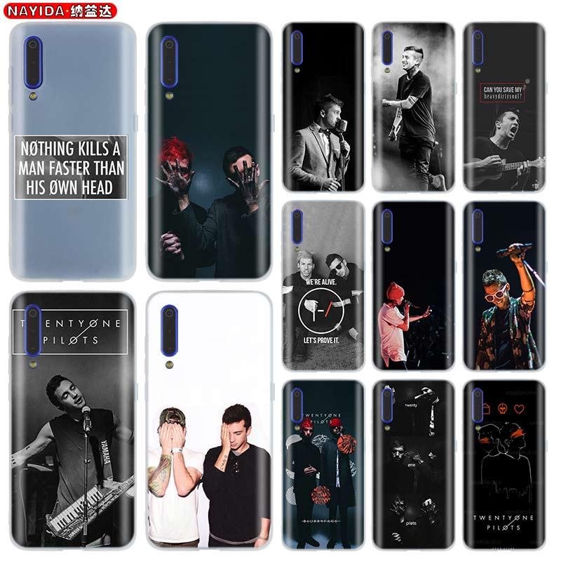 Telefon Fall für Xiaomi Mi 9 8 5X 6X A1 A2 A3 LITE F1 MIX 2s max 3 für Xiao mi 9t CC9 NTOR10 Pro 9se twenty one piloten tyler joseph