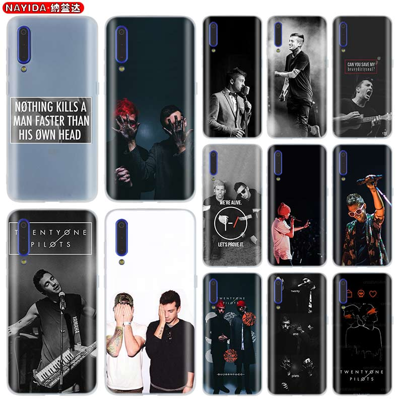 Чехол для телефона Xiaomi Mi 9 8 5X 6x A1 A2 A3 Lite F1 Mix 2s Max 3 для xiaomi 9t CC9 Ntor10 Pro 9se twenty one pilots tyler joseph