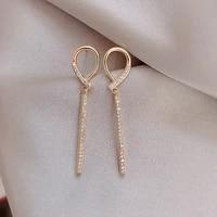 changyi 2021 trend women pendant earrings simple jewelry charm stud earrings sweet party sliever earrings