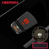 electronic handbrake parking switch auto hold button protection cap cover for 2018 2020 bmw new 5 6 series gt x3 x4 525 530li