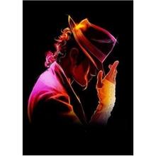 Strass Wohnkultur DIY Platz Diamant malerei Cartoon Movie star Michael Jackson 3D kreuz stich muster diamant stickerei