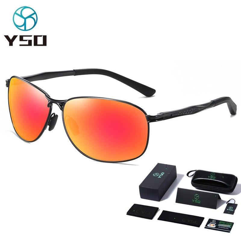 Мужские солнцезащитные очки YSO, поляризационные солнцезащитные очки с УФ-защитой и аксессуарами, мужские солнцезащитные очки для вождения, ...