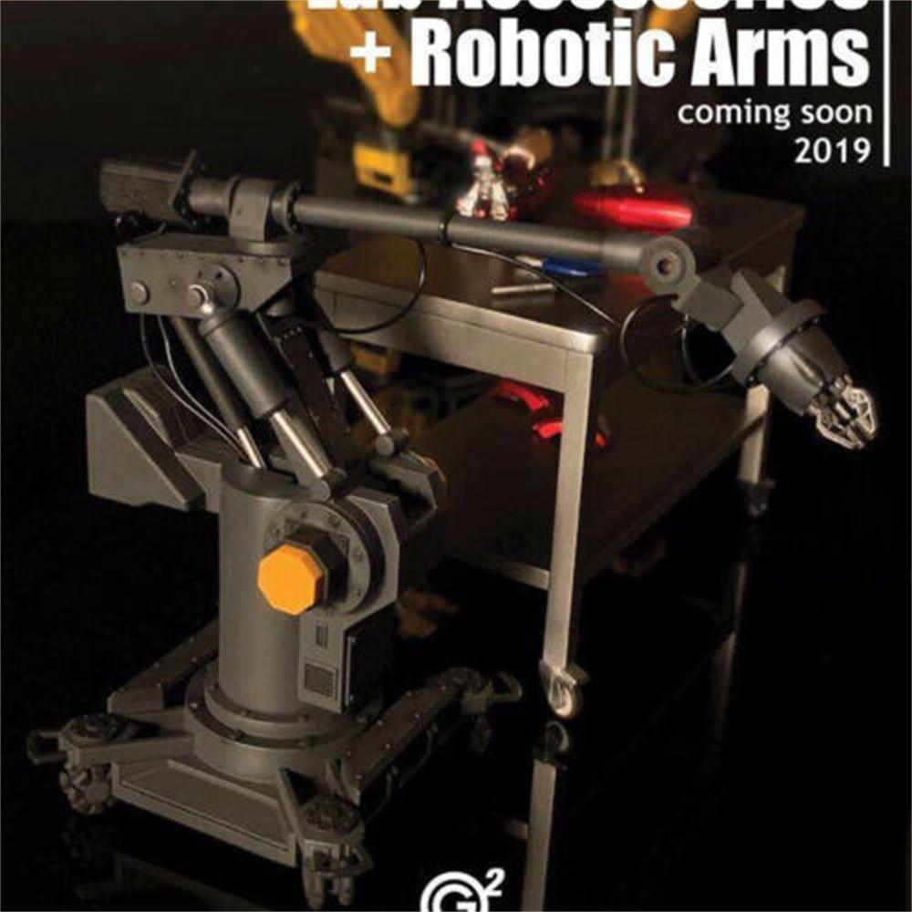 2Goodco 1/12 Iron Man Tony accesorios de laboratorio + plataforma de verano 2019 brazos robóticos