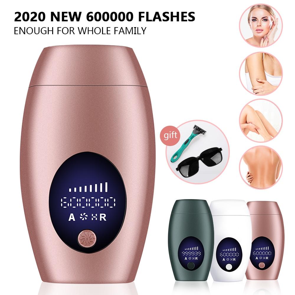 90W/60W Flash Laser Hair Removal Apparatus 8-speed Hair Removal Painless Whole Body Hair Removal and