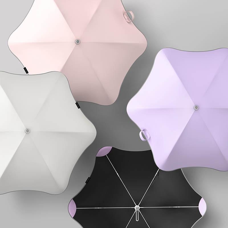 Handle Sun Umbrellas  Designed for Elegant Women 6K Strong Fiberglass Win NEW Ladies Anti UV Umbrella Fashion Simple Style Long enlarge