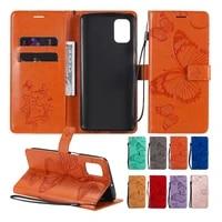 wallet phone case for oppo a52 a72 a92 f11 a5 a9 2020 a8 a31 a32 a33 a53 a53s realme 7i reno 4 lite 4f viewing stand card slots