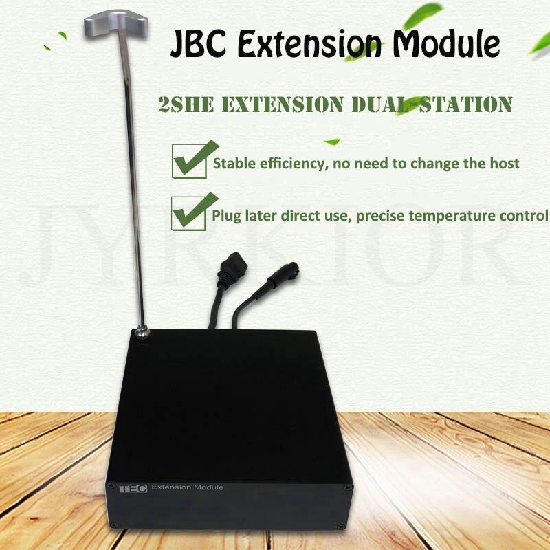 Módulo de extensión Jyrkior TEC con soporte T210 para caja de extensión de expansión de estación de soldadura JBC