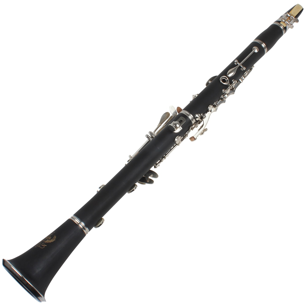 17 Key bB Flat Clarinet Bakelite Body Nickel Silver Plated Keys with Tube Cloth Screwdriver and Storage Box Accessories enlarge