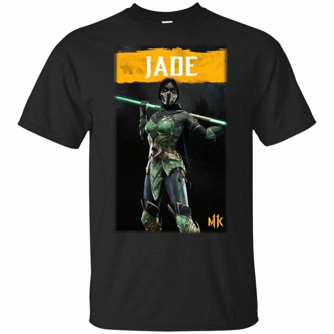 Personaje Jade Guards princesa MORTAL KOMBAT 2019 camiseta negro hombre-mujer S-5XL