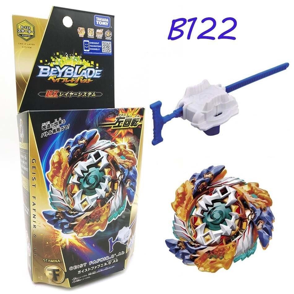 ¡En Venta! Toupie TAKARATOMY Beyblade Burst B122 B117 B100 B120 B89 B97 Arena bey blade bayblade, Top Spinner, juguetes para niños