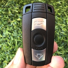 3 Knoppen Autosleutel Fob Voor Bmw E90 E91 E60 E87 E92 E89 Voor 1 5 3 6 Serie Vervanging smart Key Shell Blanco Cover Blank Case