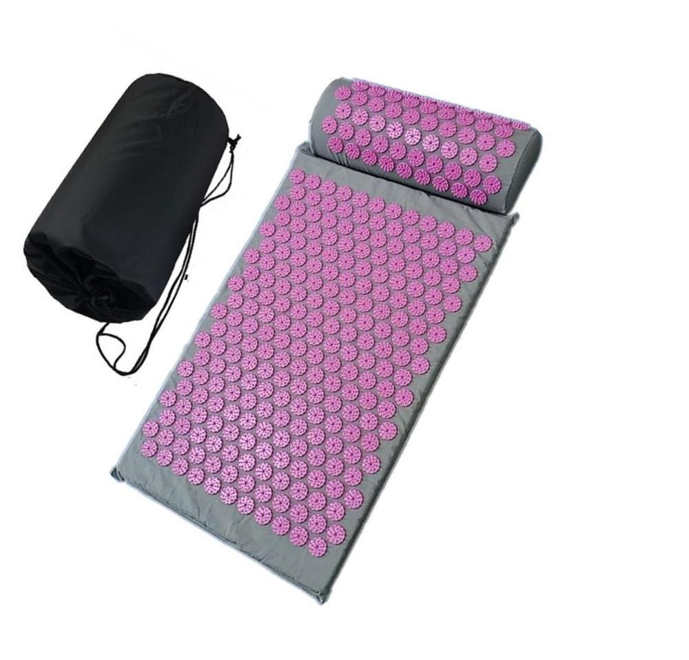 Подушка для облегчения боли всего тела, акупунктурные наборы, акупрессурный коврик/Массажный коврик для массажа и релаксации