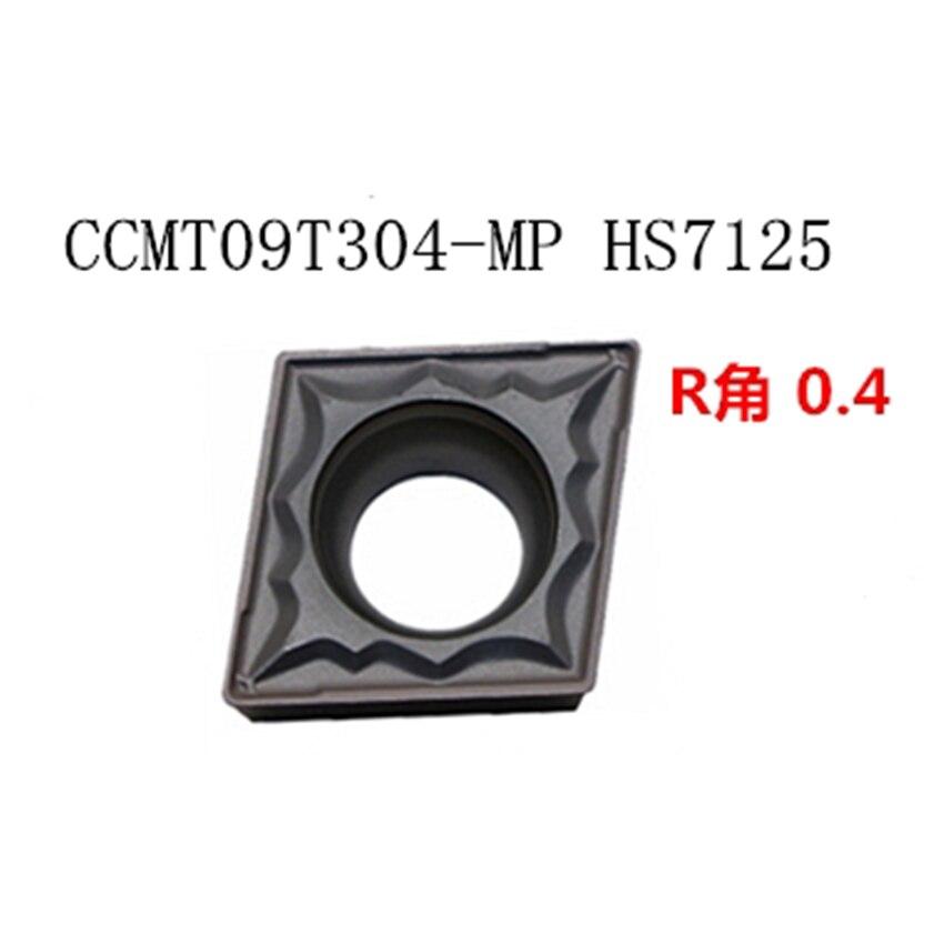 CCMT060204-MP / CCMT060208 CCMT09T304-MP CCMT09T308-MP CCMT120404-MP CCMT120408-MP HS7125  CNC carbide inserts 10PCS/BOX