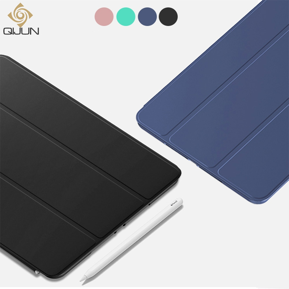 "QIJUN чехол для HUAWEI MediaPad M5 Lite 10 10,1 ""BAH2-L09/W19 DL-AL09 Чехлы подставка для авто сна Смарт планшет чехол защитный чехол"
