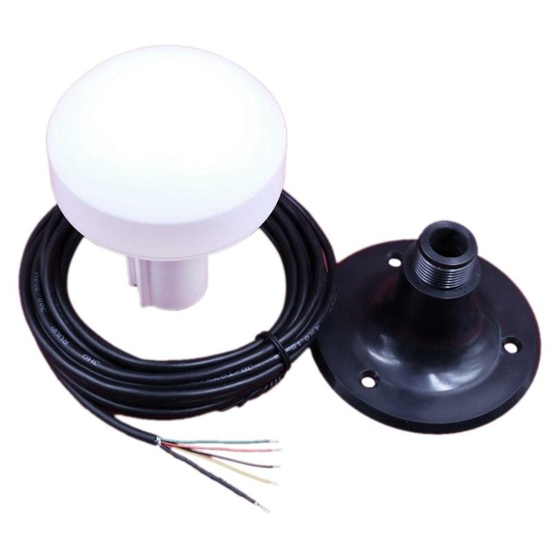 12V náutico receptor RS-232 protocolo barco marino barco receptor GPS antena módulo NMEA 0183 4800Bps DIY conector Base de plástico