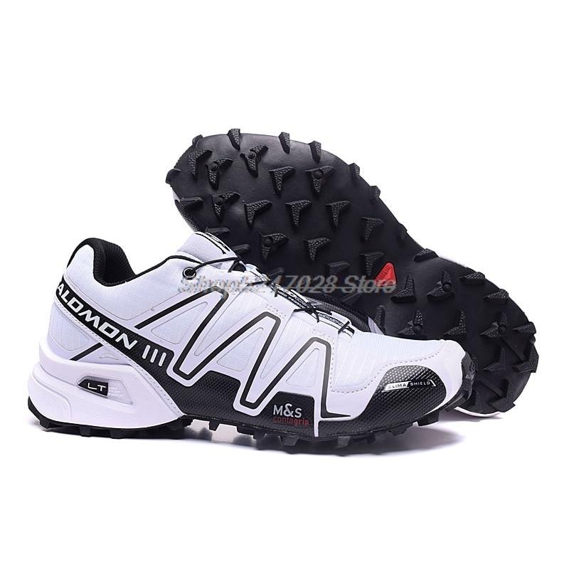 Hot Sale Salomon-Shoes Speed Cross 3 CS III Outdoor Sports Shoes speed cross men running shoes eur 4