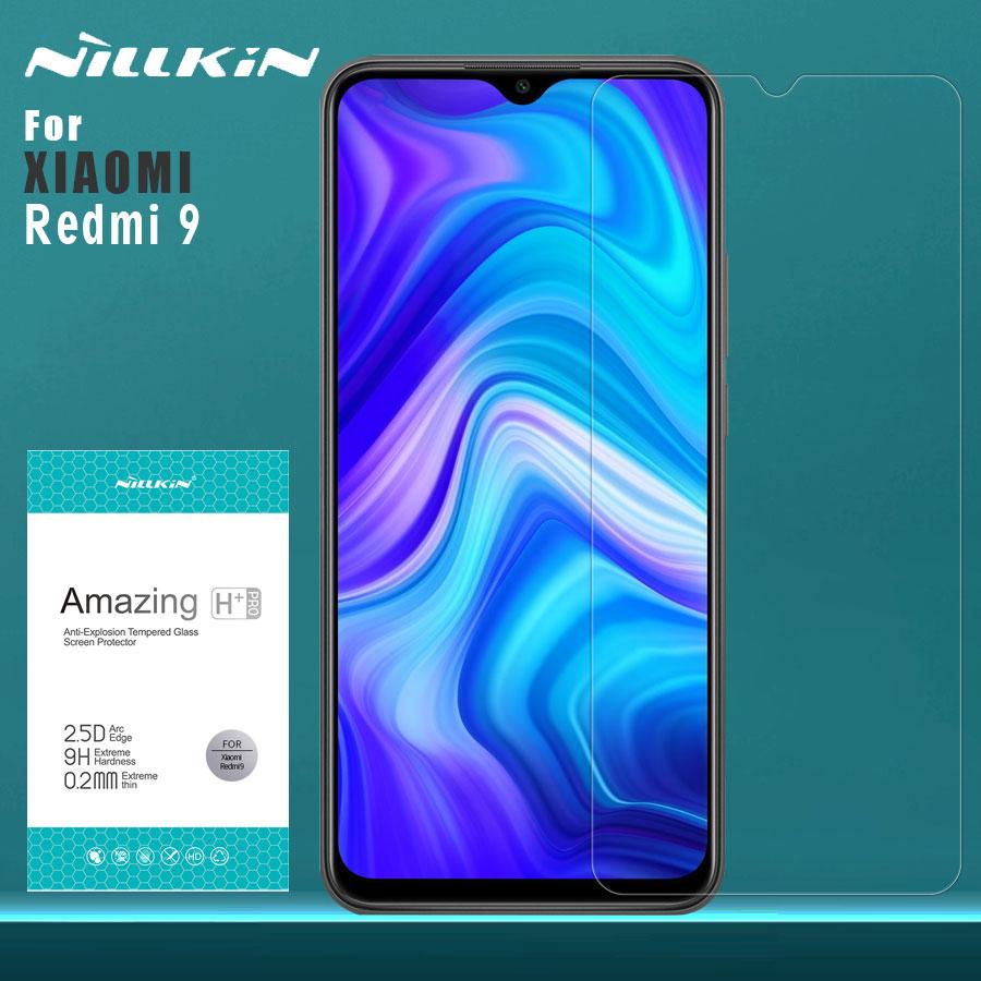 Para Xiaomi Redmi 9 cristal templado Nillkin 9H + película protectora Pro