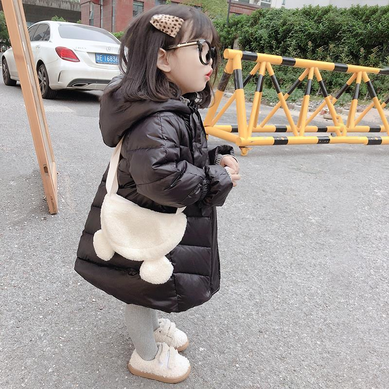 Children's Casual Outerwear Coat New Girl 2020 Cold Winter Warm Hooded Parkas Children Cotton-Padded Clothes Kids Jacket W954 enlarge