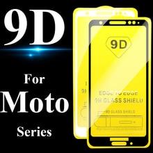 Verre de protection 9D pour motorola moto g6 protecteur décran e4 e5 p30 plus play one power g 6 e 4 5 6g 30 p 4e 1 verre trempé