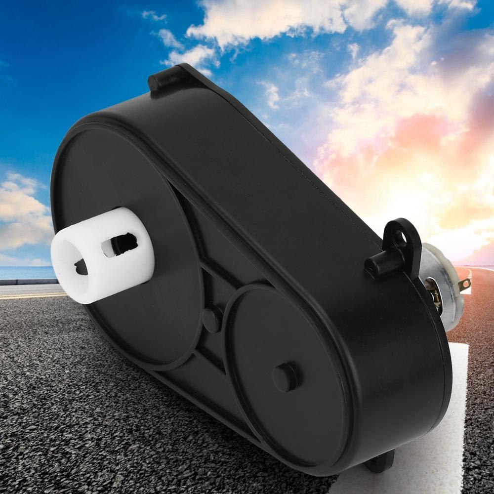 Caja de cambios eléctrica Universal para niños con Motor 6V/12V Motor con caja de cambios RS380 caja de cambios inversa niños montar en coche bebé