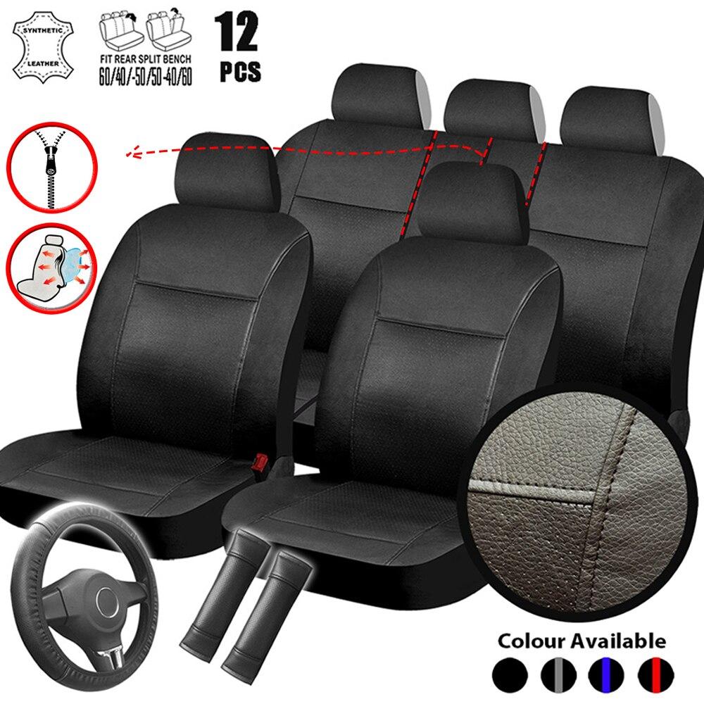 Coche Set de funda de asiento Interior Accesorios para automóviles para VW...