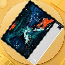 Новинка 2021, планшетный ПК Android 9,0/10,1 дюйма, тройная камера, 6 ГБ + 128 Гб, планшетный ПК, 4G, две SIM-карты, телефон, телефон, ПК