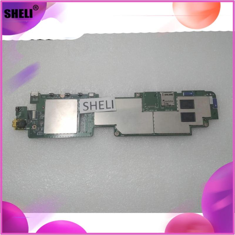 SHELI CN-0RK4PK 0RK4PK RK4PK para Dell Venue 8 Pro 5830 Placa base con Z3740D cpu 64GB