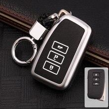 Модный Блестящий чехол из цинкового сплава для автомобильных ключей для Lexus NX GS RX IS ES GX LX RC 200 250 350 LS 450H 300H автомобильные аксессуары