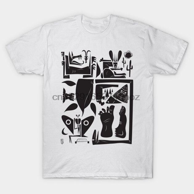 Camiseta para homem cryptids tshirt