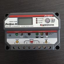 PWM 30A Morningstar PWM contrôleur de chargeur solaire PS-30 12V 24V LCD écran Prostar contrôleur solaire pour système solaire domestique