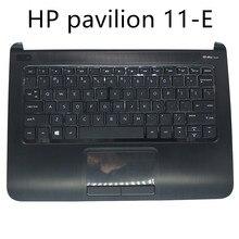 US keyboard for HP pavilion 11-E 11-E000 11-E030SA 11-E015dx US English black with Palmrest top case touch 7H13B0 745399-001
