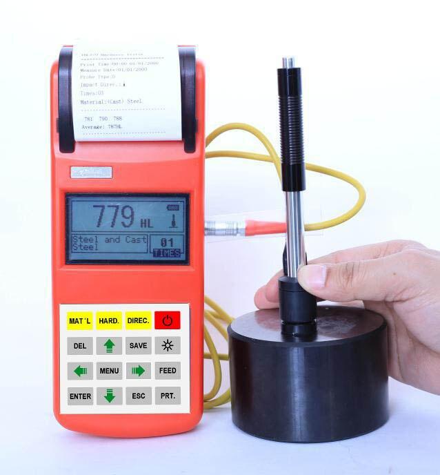 Machine dessai de dureté tenue dans la main portative de testeurs de dureté de Leeb de THL370 Digital avec le grand écran de couleur de 3 pouces