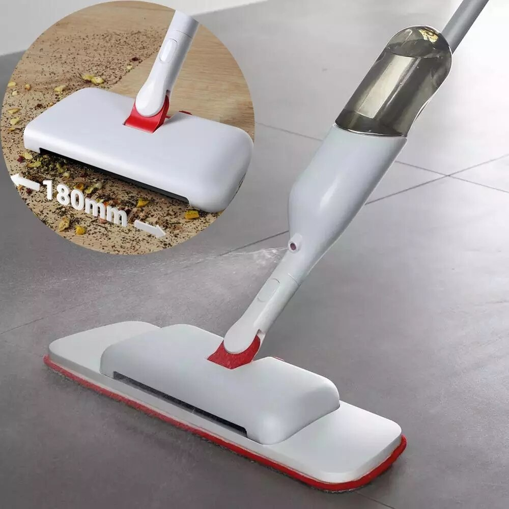 AliExpress - Cleanhome 3 in 1 Water Hand Sweeper and Spray Microfiber Flat Mop with Microfiber Pads ,Water Tank for Hardwood Tile Floor Clean