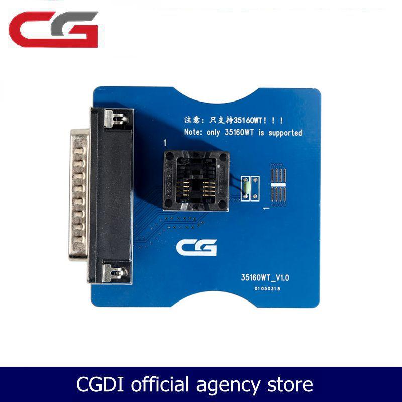 CGPro 35160WT adaptador para 35160WT 35128WT Chip funciona con CG Pro 9S12 arreglar el kilometraje sin emulador