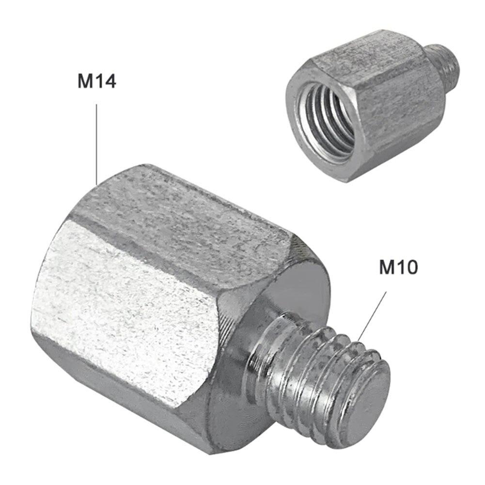 1 шт. M10 M14 угловая шлифовальная машина интерфейсный разъем конвертер адаптер винтовой шатун аксессуары для питания резьбовые адаптеры