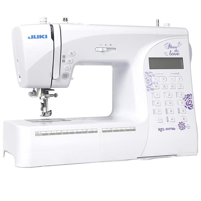 المنزلية الإلكترونية الخياطة آلة JUKI HZL-9197Me ، 197 غرز ، 7 أنواع من غرز عروة ، مع مرآة وظيفة