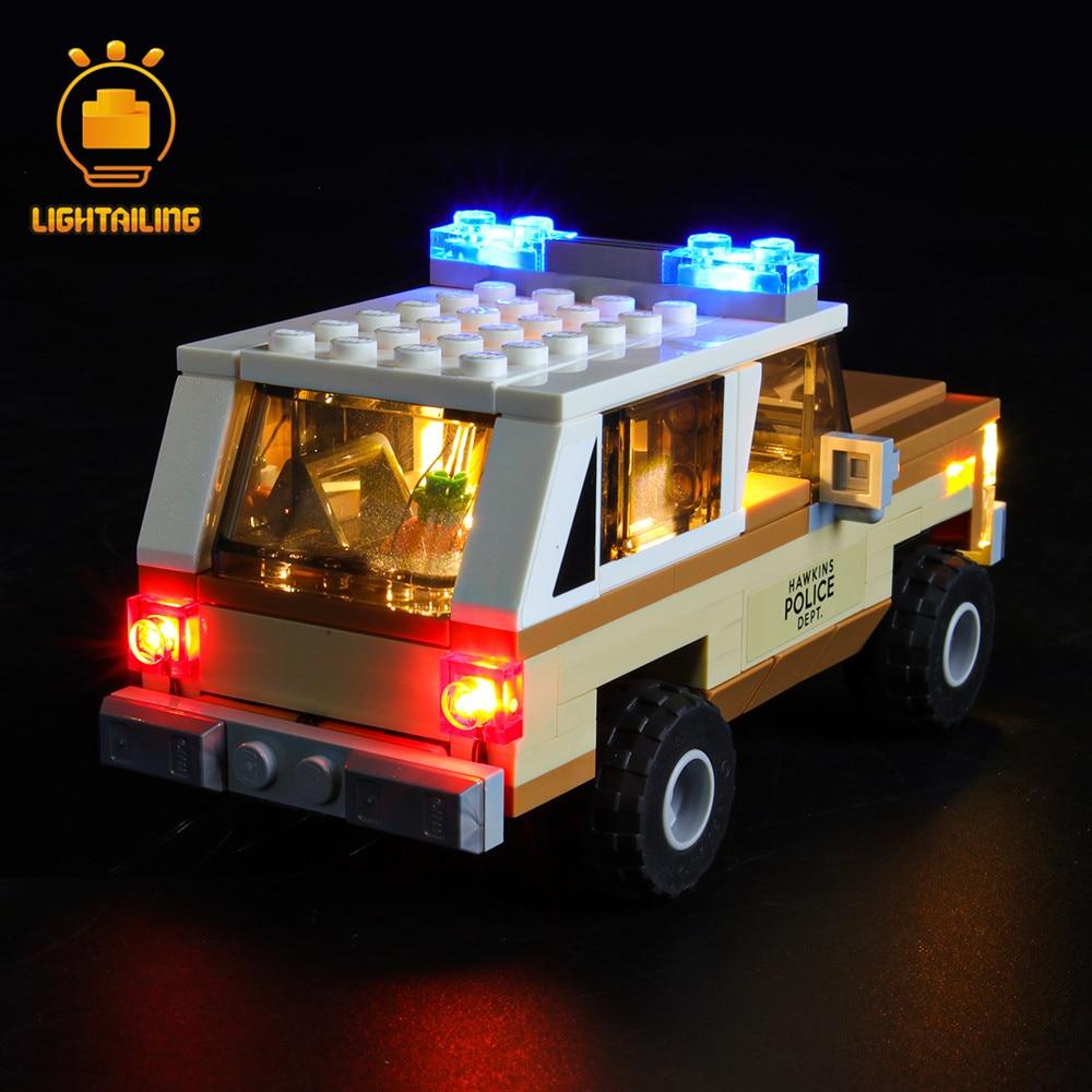 Купить с кэшбэком LIGHTAILING LED Light Kit For 75810 Stranger Things The Upside Down (NOT Include The Model)