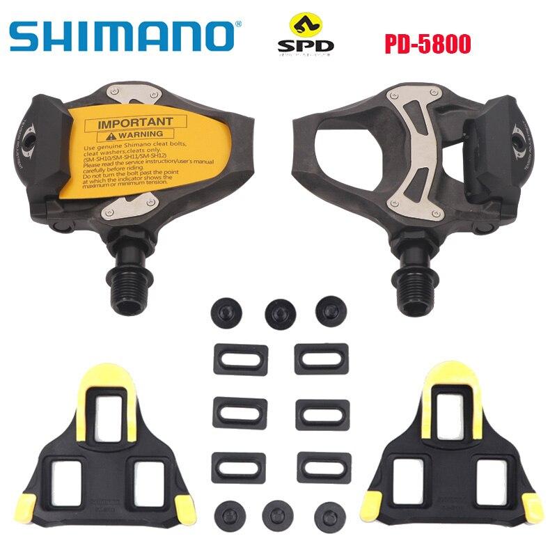 Pedales de plataforma para bicicleta de SPD-SL, sistema de PD-R5800, profesional, incluye...