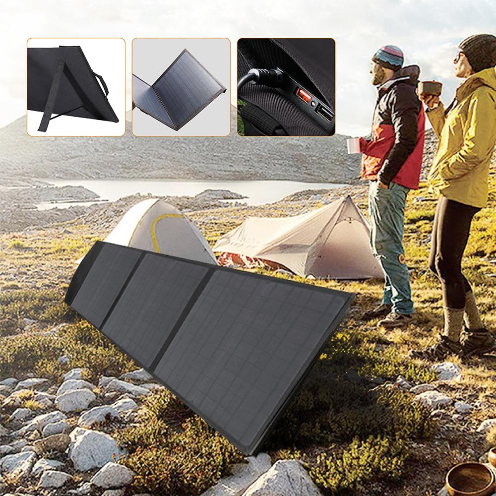 100W Solar Panels 5V 12V 18V Solar Panel Charger for iPhone iPad Macbook Samsung LG Hp ASUS Dell Car Battery