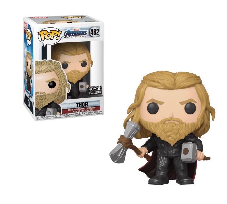FUNKO POP Marvel Avengers 4 Thor Hulk Black Widow Raytheon 482 Vinyl Doll Action Figures Collectible Model Toy For Chlidren Gift