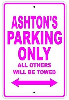 Ashton стоянки только в том случае, все Прочие ожерелья и подвески будет буксируемая осторожно Предупреждение уведомления Алюминий металличе...