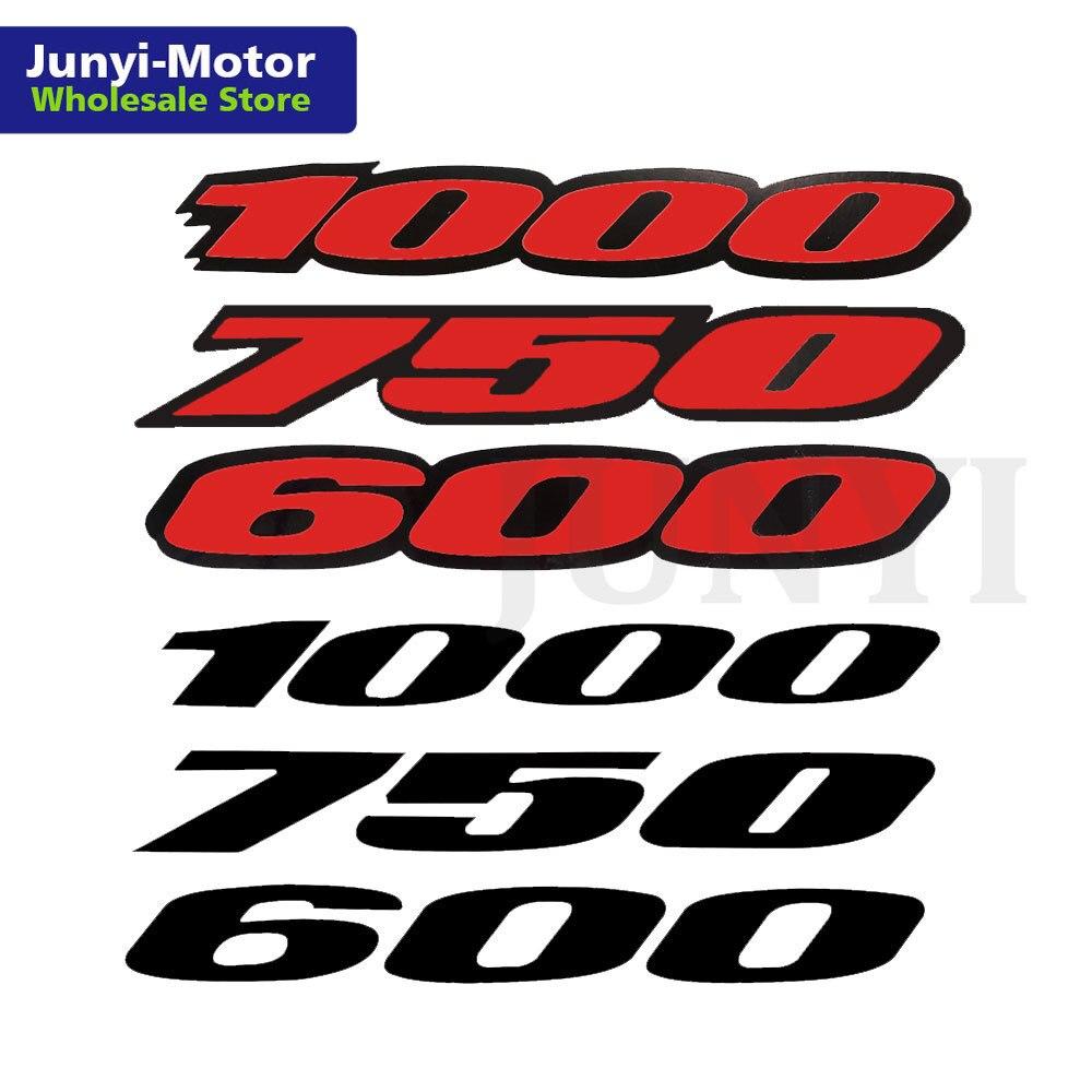 2 шт. Мотоциклетный Бак обтекатель хвостового тела Боковая наклейка Логотип Эмблема для Suzuki GSXR 600 750 1000 CBR 600 1000 S1000RR Racing