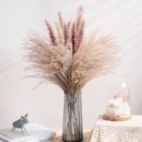 30pcs real dried reed flowers bouquet home wedding decoration table flores preservadas natural pampas grass decor for room